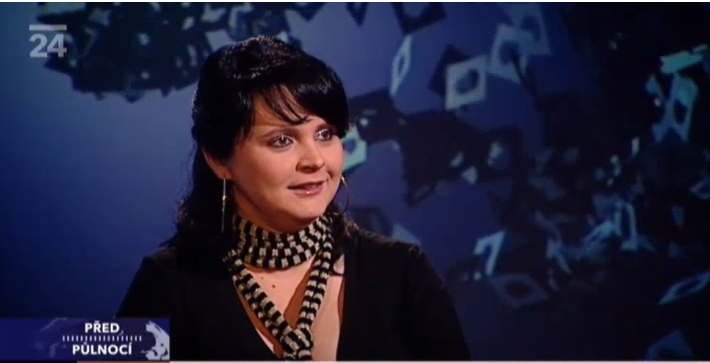Česká televize – ČT24 – Před půlnocí – rozhovor