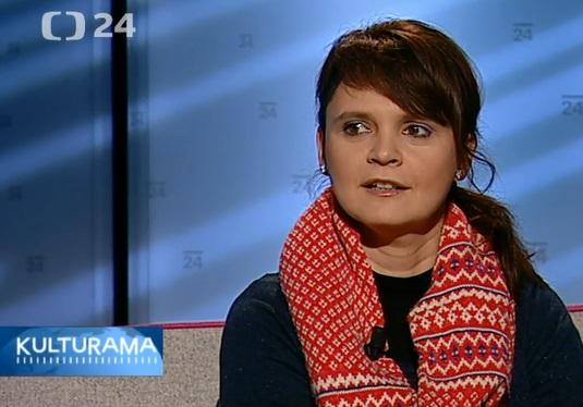 Česká televize – ČT24 – Kulturama – rozhovor