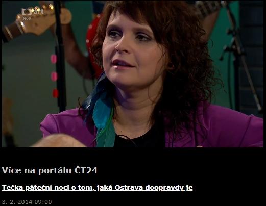 Česká televize – Tečka páteční noci