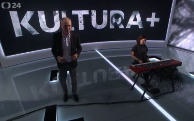Beata Hlavenková on Czech TV – ČT 24 – Kultura +