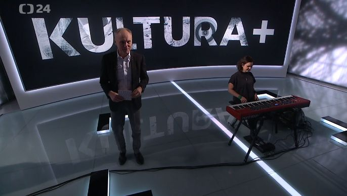 Beata Hlavenková hostem pořadu ČT 24 – Kultura +