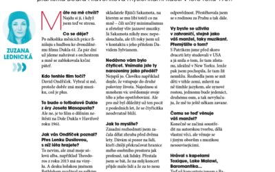 Interview for Magazine MF Dnes No.10