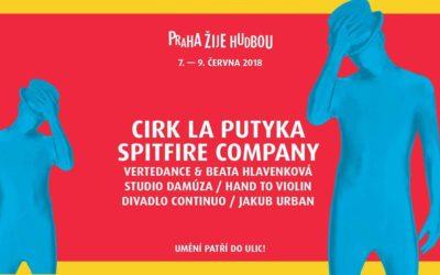 Prague festival – Praha žije hudbou – June 9, 2018 – FLOW