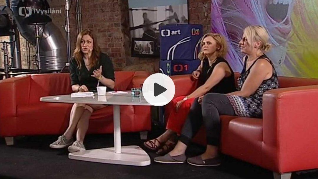 Czech TV- iVysílání from Colours of Ostrava – trio Barová/Dusilová/Hlavenková – interview