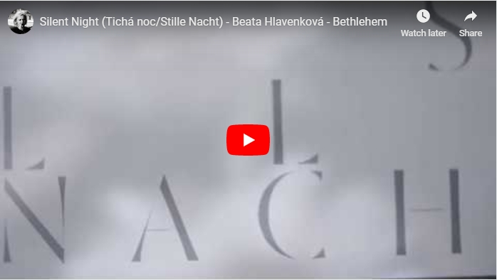 Nové video – Tichá noc z alba Bethlehem