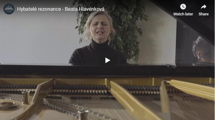 Klavírní recitály Hybatelé rezonance – video pozvánka na 4.3.2019