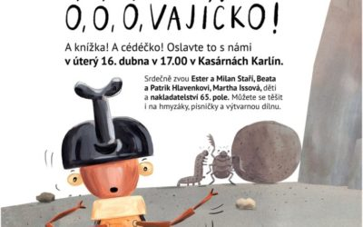 ÓÓÓ Vajíčko – a new book and CD release celebration