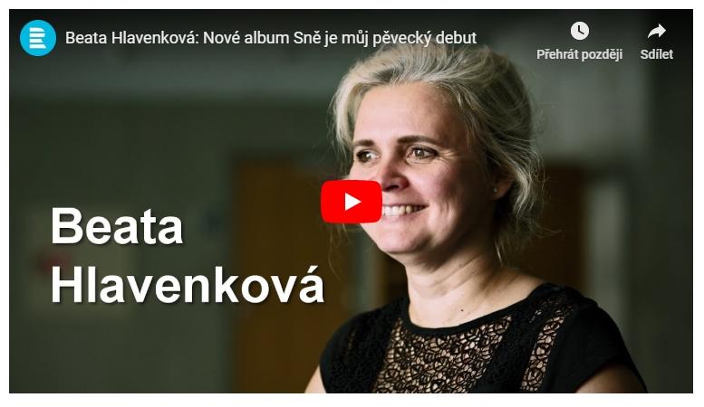 Beata Hlavenková: Interview for ČRo Vltava in Czech